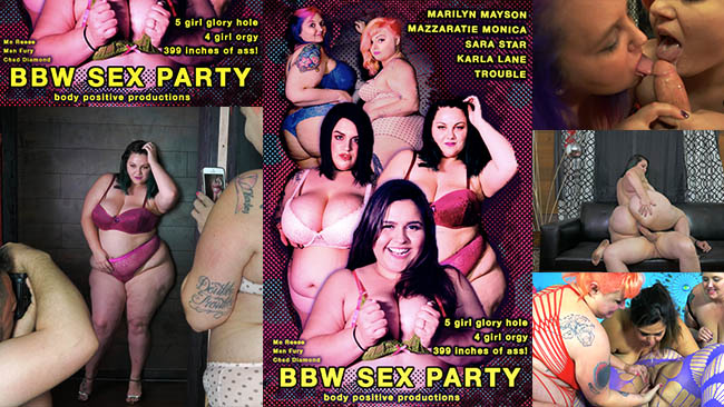 New Series BBW Sex Party Taking Off This Month!