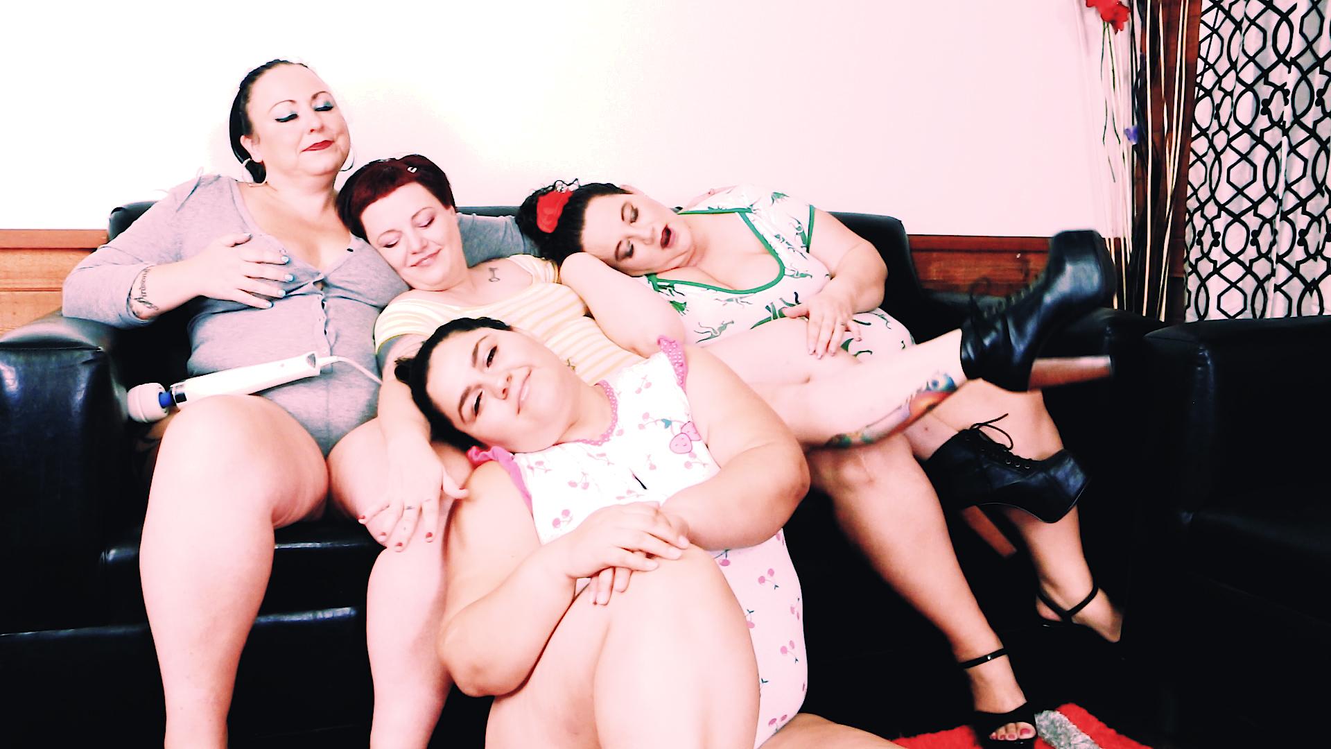 Onsie Orgy: Calista Roxxx, Jessica Lust, Karla Lane, and Trouble
